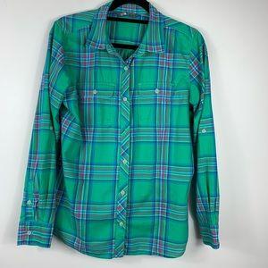 The North Face Button Down Cotton Plaid Shirt